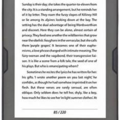 E-Book Reader Bookeen CybooK Muse HD, Multi-touch capacitive touchscreen E Ink HD 6inch, Procesor 1GHz, 8GB Flash, Wi-Fi (Negru)