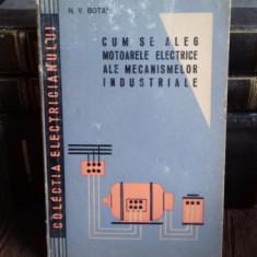 CUM SE ALEG MOTOARELE ELECTRICE ALE MECANISMELOR INDUSTRIALE - N.V. BOTAN
