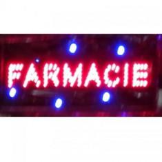 Panou informativ cu leduri - FARMACIE