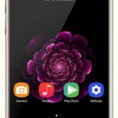 Telefon Mobil Oukitel U20 Plus, Procesor Quad-Core 1.5GHz, IPS 5.5inch, 2GB RAM, 16GB Flash, 13MP, Wi-Fi, 4G, Dual SIM, Android (Auriu)