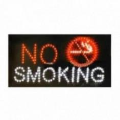 Panou leduri - No Smoking