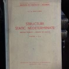STRUCTURI STATIC NEDETERMINATE - ADRIAN SCARLAT