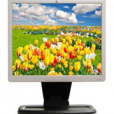 Monitor 17 inch LCD HP L1740, Silver & Black, 3 Ani Garantie - Monitor LCD