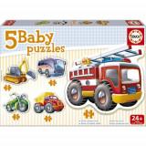 Baby Puzzle Vehicule, Educa