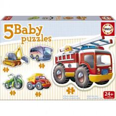 Baby Puzzle Educa Vehicule