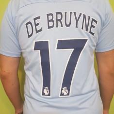 TRICOU DE BRUYNE MANCHESTER CITY MARIMI XS, S, M, L, XL - Tricou echipa fotbal, Marime: L, M, S, Culoare: Din imagine
