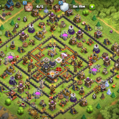 Vand cont Clash Of Clans Th11
