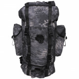 Rucsac MFH BW Combat Snake Black 65L 30254N, 25 L
