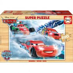 Puzzle Educa din Lemn Cars 100 piese