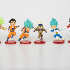 Set figurina Dragon Ball Z Super Goku Vegeta Gohan Freeza Jiren Kale