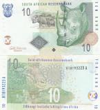 Africa de Sud 10 Rand 2009  UNC