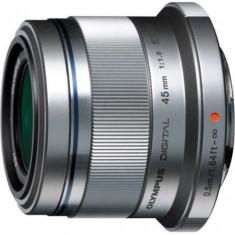 Obiectiv Foto Olympus M.Zuiko ET-M4518 45mm 1:1.8 (Argintiu) - Obiectiv mirrorless