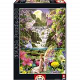 Puzzle Cascada Zanelor - 500 Piese, Educa