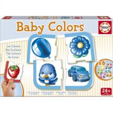 Puzzle Educa Baby Culori