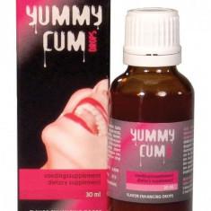 Picaturi Afrodisiace Cupluri Yummy Cum 30 ml - Stimulente sexuale