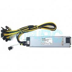 PROMO! Sursa pentru minat Power-One 1050W, 87 A, 12V, 12 mufe PCI-E, GARANTIE !!