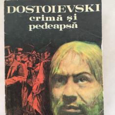 Crima Si Pedeapsa, autor F. M. Dostoievski  1981