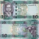SUDANUL DE SUD 10 pounds 2016 UNC!!!