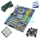 Discount! Kit Placa de baza Gigabyte+ Intel Core2Quad Q9505 + 4GB RAM GARANTIE!!, Pentru INTEL, LGA775, DDR2