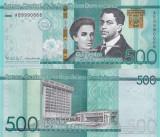 Republica Dominicana 500 Pesos 2017 Comemorativa UNC