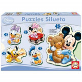 Puzzle Baby Mickey Mouse, Educa