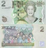 Fiji 2 Dollars 2 007  UNC