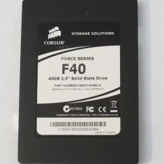 Solid State Drive SSD Corsair F40 - 40 Gb - defect, 60 GB, SATA
