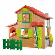 Casuta de joaca Smoby Duplex cu etaj - Casuta copii