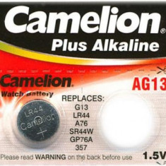 Baterie LR44 A76 AG13 L1154 G13 V13GA 1.5V Camelion