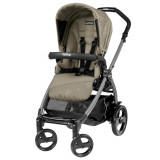 Carucior 3 in 1 Peg Perego Book Plus 51 Black Sportivo Geo Geo Beige
