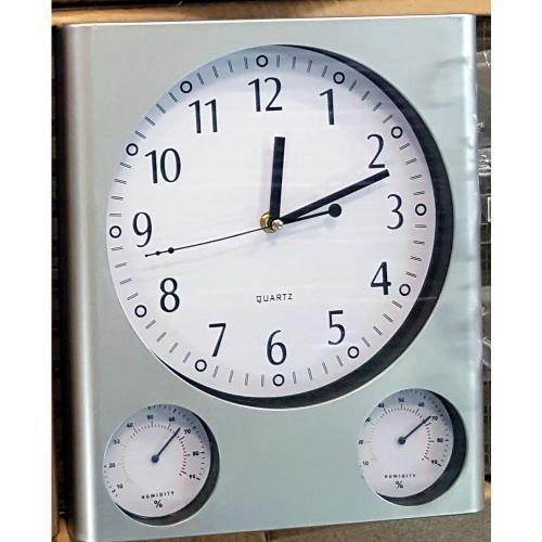 Ceas perete TM-21 Higrometru termometru foto mare