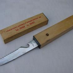 Cutit pentru peste din otel suedez - Cutit vanatoare, Cutit tactic