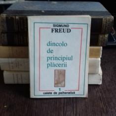 DINCOLO DE PRINCIPIUL PLACERII - SIGMUND FREUD - Carte Filosofie