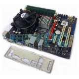Pret Bomba! Kit Placa de baza ECS+Intel Core2Quad Q9505 + 4GB RAM GARANTIE 1 AN!, Pentru INTEL, LGA775, DDR2
