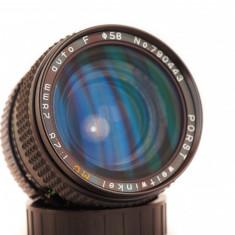 Obiectiv manual Porst MC 28mm 2.8 montura Pentax K - Obiectiv DSLR
