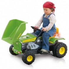 Tractor electric pentru copii Injusa Dump Track