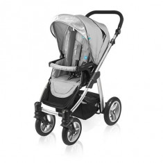 Carucior multifunctional 2 in 1 Baby Design Lupo 07 gray 2016 - Carucior copii 2 in 1