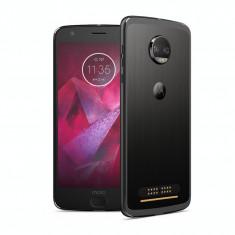 Smartphone Motorola Moto Z2 Force, 5.5 Inch, Octa Core, 6 GB RAM, 64 GB, Retea 4G, Android Nougat, Negru - Telefon Motorola