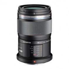 Obiectiv Olympus M.ZUIKO DIGITAL ED (Negru) 60mm - Obiectiv mirrorless