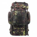 Rucsac MFH BW Tactical Camuflaj Camo Flecktarn 55L 30273V, 25 L
