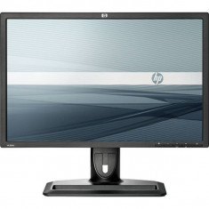 Monitor 24 inch LCD, HP ZR24w Black & Silver