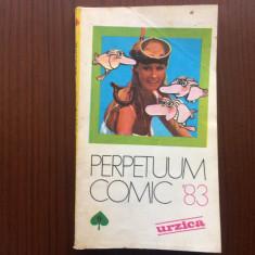 perpetuum comic 1983 urzica almanah hobby ilustrat caricaturi