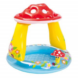 Piscina gonflabila Splash Play cu acoperis 102x89 cm, Oem