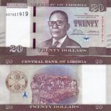LIBERIA 20 dollars 2017 UNC!!!