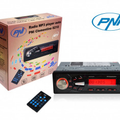 Resigilat : Radio MP3 player auto PNI Clementine 8210 USB slot SD fata detasabila, - CD Player MP3 auto