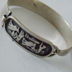 """Bratara argint vintage """"Egipt Style"""" AAA"""
