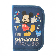 Penar neechipat 1 fermoar 2 extensii Pigna Mickey Mouse MKPE1701-1