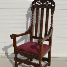 Tron Regal baroc, Scaune, 1900 - 1949