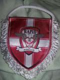 Fanion Fotbal rapid bucuresti 1923,fanion vintage de colectie,Transport  GRATUIT