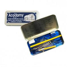 Trusa geometrie metal Acodomy - Instrumente desen